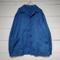 ギリシャ スリーピングシャツジャケット ブルー