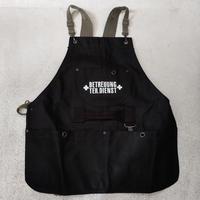 倉敷帆布のガーデニングエプロン 黒