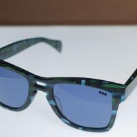 kush 80's pattern series /green/blue