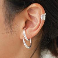 silver925 -8cuff pierce-〈StyleNo.010724-55〉