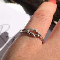 silver925 ring-Fragile-〈StyleNo.010613-7〉size:#9.5