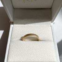 14K Ring - Aten -<Style No.3718>