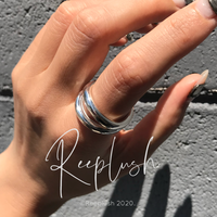 【unisex】silver925 Urban Ring/size:M,L〈Style.No.020605-35〉
