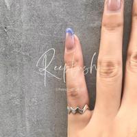 【ラスト1点】silver925 Zigzag Pinky Ring/size:#3-5