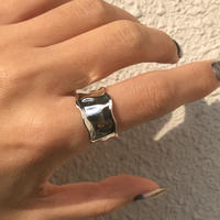【 unisex】silver925 Esme Open Ring /size:M,L〈Style.No 020203-70〉