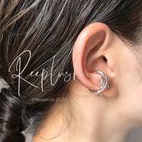 【unisex】silver925 Twist Ear Cuff〈StyleNo.020605-29〉
