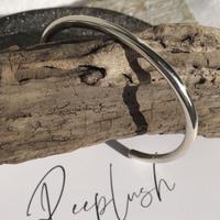 silver925 3.5mm Cuff bangle  <Style No.011016-45>