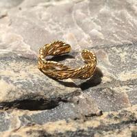 silver925 K18GP - Daisy Earcuff -〈StyleNo.010904-100 〉gold/1peace