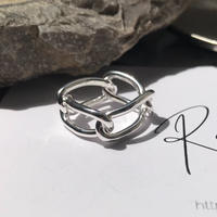 silver925 4chain Ring/size:M<Style No.010904-38>