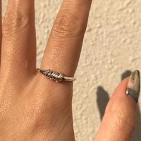 ラスト1点/silver925 Noelle Ring /size:#9〈Style.No 020203-106〉