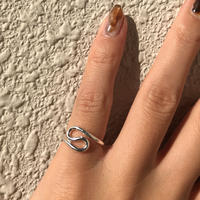 silver925 Pinky ring fold back/size:S〈StyleNo.011016-15〉