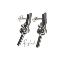 silver925 Knot Pierce