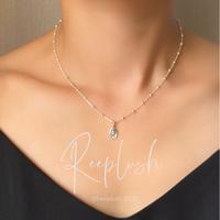 silver925 silver925 Ami Necklace〈StyleNo.020710-16〉