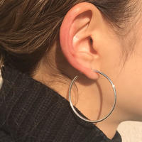 silver925 40mm Hoop Pierce<Style No.011202-87>