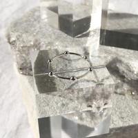 silver925 Hexa Ring/size:#10〈StyleNo.010724-62〉