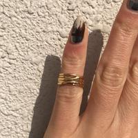 【ラスト1】silver925 K18GP Freya Pinky Ring/size:SS<Style No.020203-89>