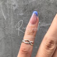 silver925 Joann Pinky Ring/size:S