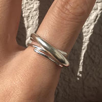 silver925 ring -bloom-〈StyleNo.011016-34-re〉size:#13