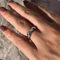 silver925 ring -Hammer Ring- <Style No.010904-41>  size:#9/#11