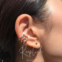 silver925 Thin Triplets Ear Cuff〈StyleNo.020813-19〉