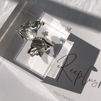 silver925 Petal Pierce  <Style No.011202-36>