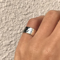 silver925 Agata Pinky ring/size:S〈StyleNo.020203-71〉