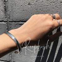 silver925 Classy Cuff Bangle/M〈StyleNo.020611-11〉
