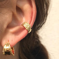 silver925  K18GP Shapeless Ear cuff /1P〈StyleNo.020203-120〉