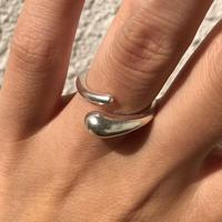 silver925 ring - Round hug-〈StyleNo.011016-36-re〉size:#11/#13