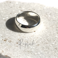【10号ラスト1点】silver925 8mm Bold Ring