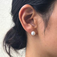 silver925  Small Pearl pierce  <Style No.010904-96>