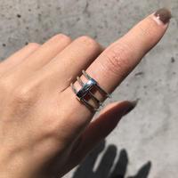 silver925 Triple Ring /size:#11,15