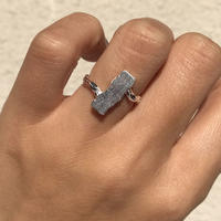 silver925  Alternate Ring /size:S,M〈Style.No 011202-61〉
