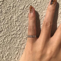silver925 Pinky ring - lilchains-〈StyleNo.011016-13〉size:Free