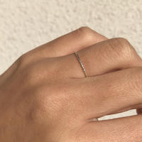 silver925 1mm jagged Layered Ring/size:S,M,L<Style No.010904-60>
