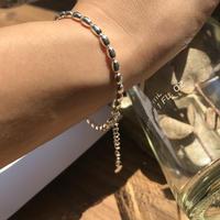 silver925  -Ricechain Bracelet-〈StyleNo.010724-51〉