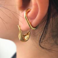 silver925 K18GP - Small Size Cfook Earcuff -〈StyleNo.010904-83〉gold/1peace