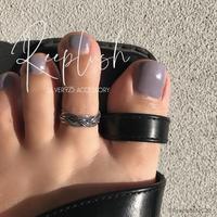 【ラスト1点】silver925 Toe Ring TypeA/size:Free〈Style.No.020611-4〉