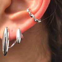 silver925 Twist Earcuff〈StyleNo.020203-4〉