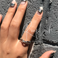 silver925 Noble Ring/size:S,M,L〈Style.No.020605-16〉