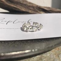 silver925 Wrap around Earcuff&Ring /1P〈StyleNo.011016-20〉