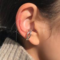 silver925 Twist Ear Cuff