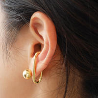 silver925  K18GP -Chook Earcuff-〈StyleNo.010724-31〉 1peace