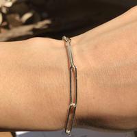 silver925  -Chain Bracelet-〈StyleNo.010724-46〉silver