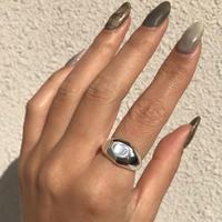 【ラスト1】silver925 Continent Ring/size:#14〈StyleNo.010613-9〉