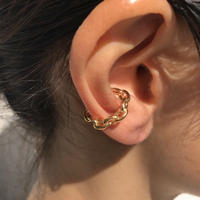 silver925 K18GP Chain Ear Cuff〈StyleNo.020319-13〉