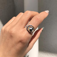 silver925 Universe Ring/size:M,L〈Style No.020319-2〉