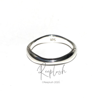 silver925 Arc Ring /size:S,M,L<Style No.020914-6>