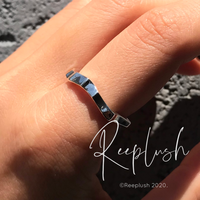 silver925 Stump Ring/size:S,M,L〈Style.No.020611-3〉