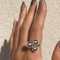 silver925 Genesis Ring/size:M〈StyleNo.010724-53〉